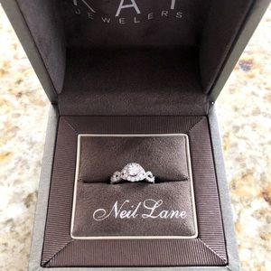 Neil Lane Engagement Ring 1 ct tw Diamonds